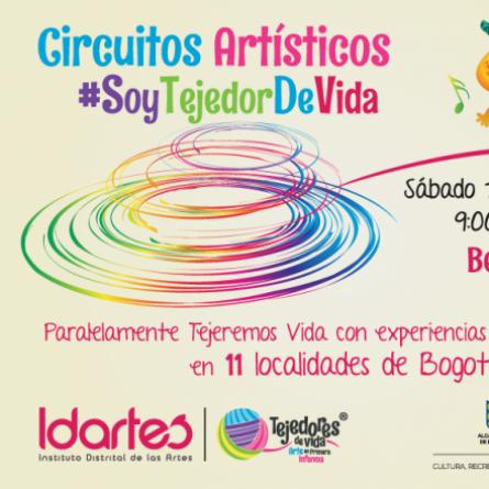 Bebés al Parque y Circuito Artístico #SoyTejedordeVida