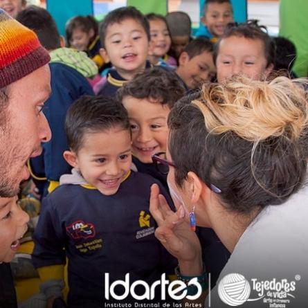 Arte en Primera Infancia del Instituto Distrital de las Artes - IDARTES